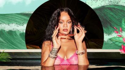 Pink fehérneműben forrósította fel a hangulatot Rihanna
