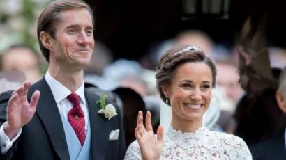 Pippa Middleton állapotos! Második gyermekét várja