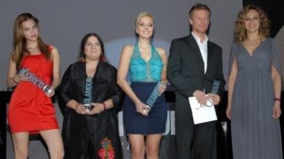 Pokorny Lia és Janicsák Veca is Glamour-díjas