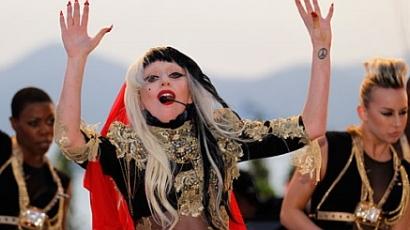 Pucérra vetkőzött Lady Gaga