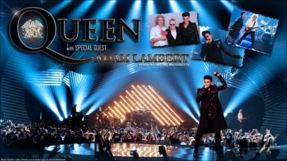 A Queen, Adam Lambert és Elton John egy színpadon
