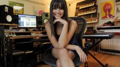 Rebecca Black elismert énekesnő akar lenni
