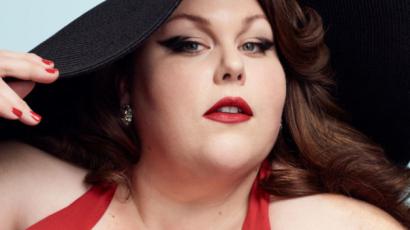 Retro fürdőruhákat reklámoz Chrissy Metz