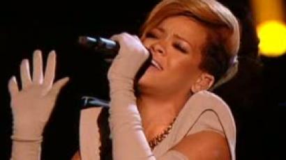 Rihanna fellépett az X Factorban