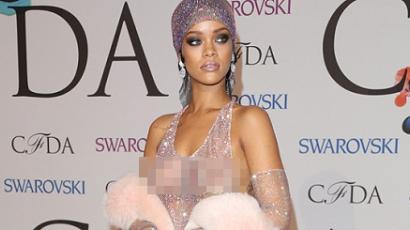 Rihanna hatalmasat villantott