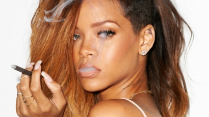 Rihanna megünnepelte a marihuána napját