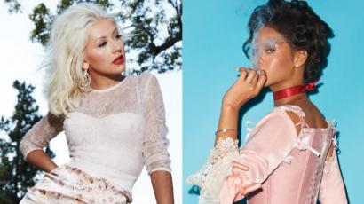 Rihanna nagyon szívesen dolgozna együtt Christina Aguilerával