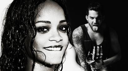 Rihannával csókolózna Adam Lambert