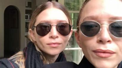 Ritka meglepetéssel szolgáltak az Olsen-ikrek Ashley Bensonnak