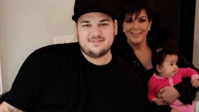 """Rob Kardashian: """"Már értem, anyám miért vállalt hat gyereket"""""""