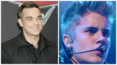 Robbie Williams félti Justin Biebert