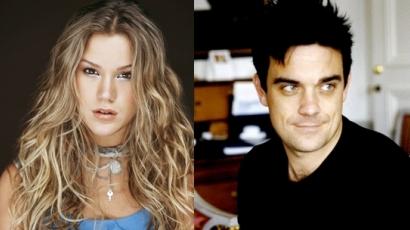 Robbie Williams vigyáz Joss Stone-ra