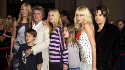 Rod Stewart ismét apa lett