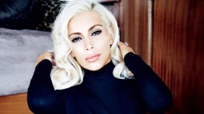 Röhejesnek tartja az internetezők névötletét Kim Kardashian