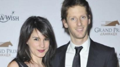 Romain Grosjean újra apa lesz