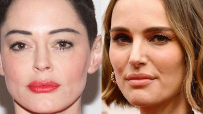 Rose McGowan kiakadt Natalie Portman Oscar-köpenye miatt, undorítónak találta