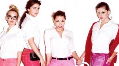 Pinkbe bújtak a Titkos Kör lányai