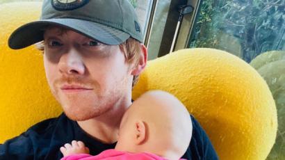 Rupert Grint imád édesapa lenni