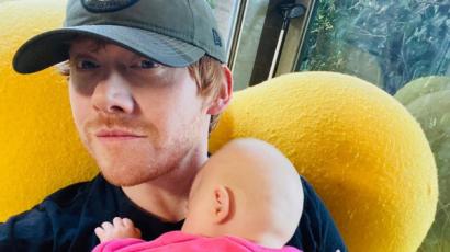 Rupert Grint rettegett, amikor hazahozta újszülött gyermekét