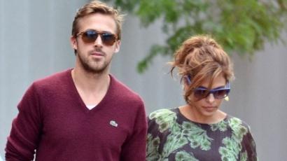Ryan Gosling nem tűri a pucér Eva Mendest