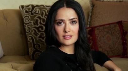 Salma Hayek smink nélkül is gyönyörű