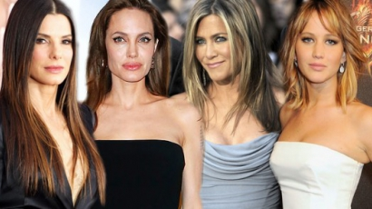 Sandra Bullock letaszította Angelina Jolie-t a trónról