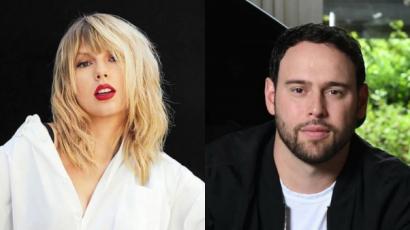 Scooter Braun ismét felhozta Taylor Swifttel kirobbant vitáját