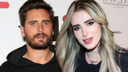 Scott Disick Cannes-ba vitte Bella Thorne-t