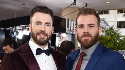 Scott és Chris Evans nem bírt magával: egymást ijesztegették a testvérek