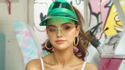 Selena Gomez a karantén alatt tanult meg kísérletezni a sminkjével