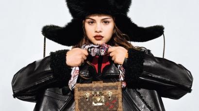 Selena Gomez lett a Louis Vuitton reklámarca