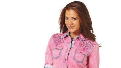 Shea Fisher ismét a Cowgirl Upnak állt modellt