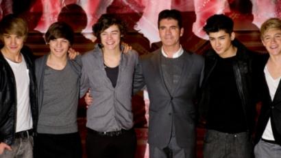 Simon Cowell még törődik a One Directionnel