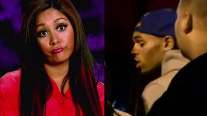 "Snooki: ""Képen törlöm Chris Brownt"""