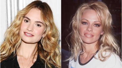 Sokkolóan hasonlít Lily James Pamela Andersonra – fotó!
