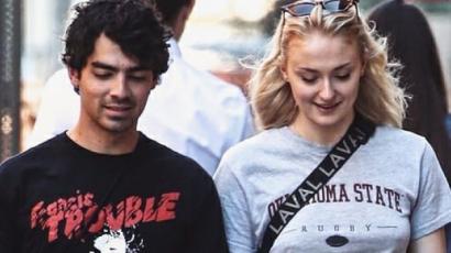 Sophie Turner és Joe Jonas 1 napig szakítottak az esküvő előtt