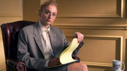 Sophie Turner terapeutát játszott