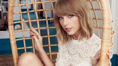 Sosem látott gyerekkori képet osztott meg Taylor Swift