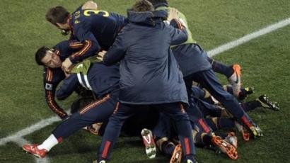 Spanyolország kiszenvedte a továbbjutást