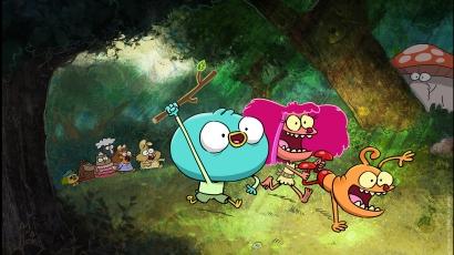 SpongyaBob alkotójának vadonatúj sorozatával erősít a Nickelodeon