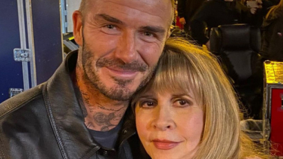 Stevie Nicks bevallotta, odavan David Beckhamért