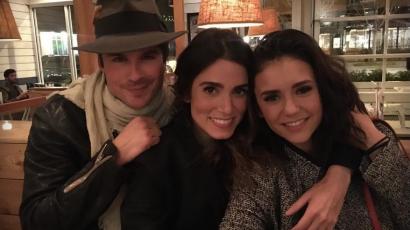 Szent a béke! Nina Dobrev és Nikki Reed baráti viszonyt ápolnak egymással