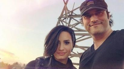 Szerelme oldalán tűnik fel Demi Lovato