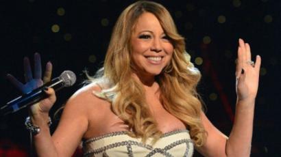 Szétnyílt Mariah Carey ruhája