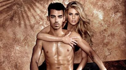 Szexi fotósorozat készült Joe Jonasról és Charlotte McKinney-ről