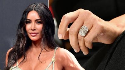 Szexi fotóval, a jegygyűrűje nélkül tért vissza Kim Kardashian