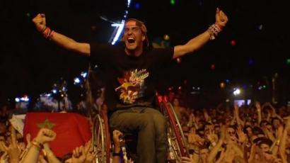 #Sziget videó: Egy kerekesszékes srác volt a Foo Fighters sztárja