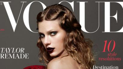 Szinte rá sem lehet ismerni Taylor Swiftre a VOGUE címlapján