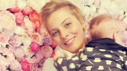 Szívmelengető képet osztott meg kisfiáról Tatár Csilla