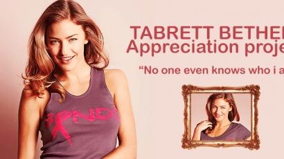 Tabrett Bethell rajongóinak jótékony akciója